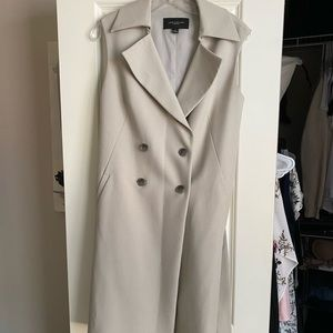 Ann Taylor Sleeveless Trench